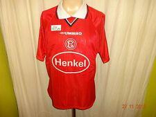 "Fortuna düsseldorf original umbro hogar camiseta 1998/99 ""henkel"" talla m top"
