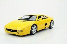 TOP MARQUES COLLECTIBLES 1994 Ferrari F355 Berlinetta Yellow w/ Engine 1:18*New!
