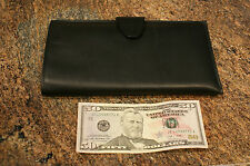 Amity Leather Jewelry Roll / Clutch for travel  - New in box