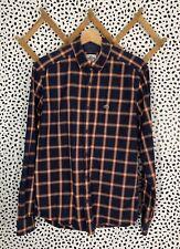 Lacoste Shirt Button Vintage Plaid 40 Medium