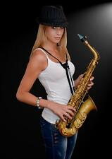 SAXHOLDER harnais génial ! Cordelière saxophone, clarinette basse, basson.