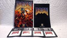 DOOM (MS-DOS IBM Windows PC 1993) Mail Order Floppy Disk! Tested Working Big Box