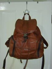 FOSSIL Buckner Brown Leather Rucksack Backpack