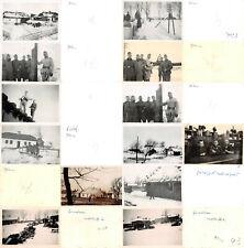 13 Fotos deutsche Besatzung Soldaten bei  Zamosc Polen