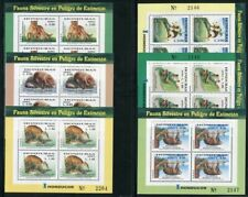 Honduras 2004 Tiere Puma Affe Frosch Animals Kleinbögen 1736-1741 Postfrisch MNH