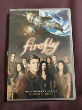 Firefly - The Complete Series (Dvd, 2014, 4-Disc Set) Joss Whedon Nathan Fillion