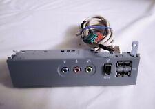 PC Desktop Front USB Firewire Mic Audio Port Board IO Panel