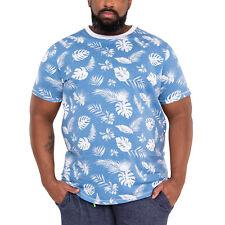 Duke D555 Homme Terell Big Tall King Size Carreaux Boutonné Shirt Top-Bleu marine//rouge