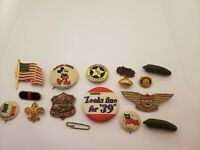 1939 40s HEINZ PICKLE assortment PIN Souvenir Advertising Pinback antique lot 14