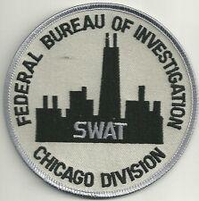 Fbi: chicago Division-SWAT S.W.A.T. Police Patch SEK policía Patch Skyline