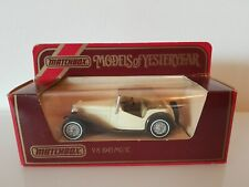 Matchbox Models Of Yesteryear Y8 1945 MG TC - Boxed - FREE POSTAGE