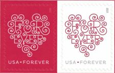 40 Stamps USPS Forever Love Heart Postage Stamp - Brand New 3