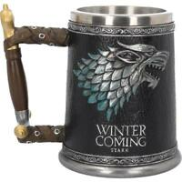 Winter Is Coming Game of Thrones Tankard Collectible Drinking Glass Vessel Gift
