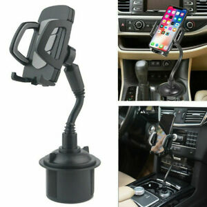 Adjustable Car Cup Mount Holder Cradle For iPhone Samsung Cell Phone Accessories