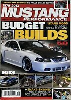1979-2013 Mustang Performance Magazine Fall 2013 Budget Builds Stang Mods