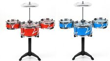 Baby Children Mini Drums Set Musical Instruments Play Music Toy Chai Bracket Fun