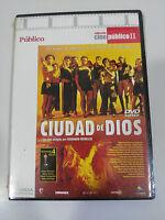 CIUDAD DE DIOS DVD SLIM + EXTRAS FERNANDO MEIRELLES ESPAÑOL PORTUGUES NEW NUEVA