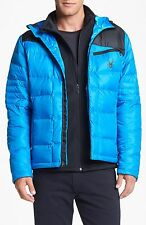 NEW MEN Spyder Dolomite 700 fill Goose-Down Water-resistant SKI Puffer/JACKET XL