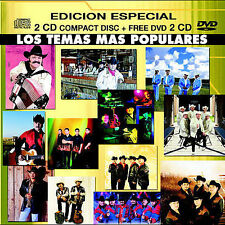 FREE US SHIP. on ANY 2+ CDs! ~Used,Good CD Los Temas Mas Populares: Los Temas Ma