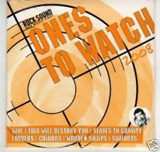 (K693) Rock Sound, Ones to Watch 2008 - DJ CD