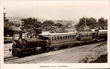 Swansea. Mumbles Train in Boots Real Photo Series.