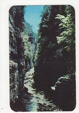 USA, View from Table Rock in Ausable Canyon Old Postcard, A815