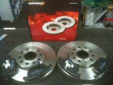 VW JETTA 1.9TDI 140 04> MINTEX BRAKE DISCS & PAD FR