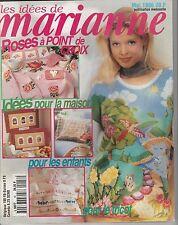 Les idées de Marianne N°18 mai 1996 point de croix , tricot