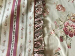 FABULOUS COUNTRY CURTAINS FULL SIZE BEDSKIRT/DUST RUFFLE 2 MATCHING SHAMS