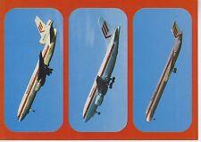 Postcard 1373 - Aircraft/Aviation Martinair Douglas DC-10/Airbus A310/DC9 Super