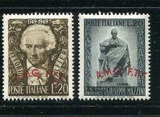 Trieste Zone A (Italy) #45-6 Mint