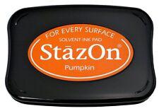 StazOn Solvent Ink Pad PUMPKIN SZ-92 Tsukineko Sealed! Brand NEW!