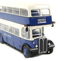34203 EFE AEC Regent III RLH Class Double Deck Bus Samual Ledgard 1:76 Diecast