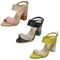 Ladies Spot On Block Heels Summer Sandals UK Sizes 3 - 8 F10705