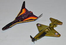 - lot of 2 HOTPLANES HotWheels vintage Plane 1970s Cloud Hopper, Maching Bird-