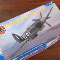 Airfix Supermarine Spitfire F22/24 1:48 Scale Model Kit + Eagle Strike Decals