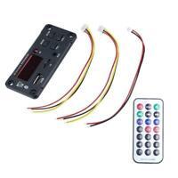 Bluetooth 5.0 MP3 Decoder Board Audio Module Support Radio FM USB For Car P6Z4