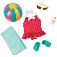 Our Generation Retro Doll Clothes Outfit Beach Belle NEW