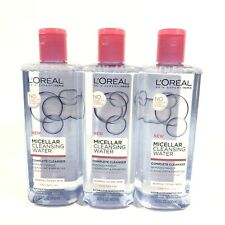 Loreal Micellar Cleansing Water For Normal/Dry Skin Types 13.5 oz EA Lot of 3