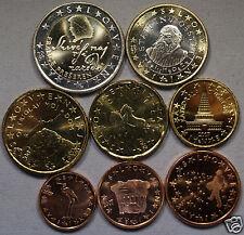manueduc   ESLOVENIA  2007  Las 8 Monedas  Euro  NUEVAS