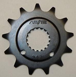 Sunstar Steel Front Sprocket 12 Tooth Fits 04-12 Honda TRX450R 34712 34712