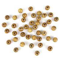 6-18mm Round Natural Wood  Loose Spacer Beads For Bracelet Jewelry DIY Crafts yu