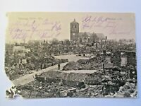 Erbe ! besondere AK Rar aus 1915 Feldpost 1.WK WW Feldzug 1914-15 Rethel i. Fr.
