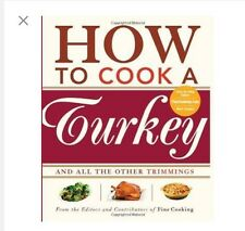 How to Cook a Turkey Trimmings Thanksgiving Cookbook DIY (SKU: G1561589594I3N00)