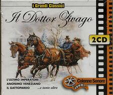 I GRANDI CLASSICI COLONNE SONORE Il Dottor Zivago 2 dischi - CD NUOVO