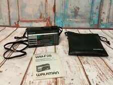 Sony Walkman WM-F28 AM / FM Radio & Cassette player (Good working order)