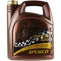 5 Liter Original PEMCO Automatikgetriebeöl iMATIC 420 ATF IID Gear Oil Öl