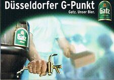 Bier Beer  Gatz Altbier Düsseldorfer G-Punkt, selten und bestens erhalten
