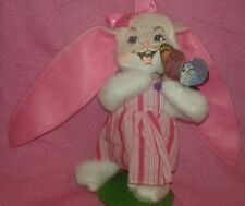 Annalee Doll  Easter Bunny Figure On Stand
