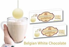 2 Boxes of WHITE Belgian Hot Chocolate Bombs(6 Bombs)